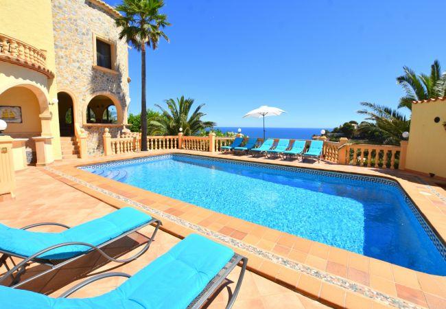 Chalet in Javea / Xàbia - Casa Castillo al Mar Javea - 5062-1